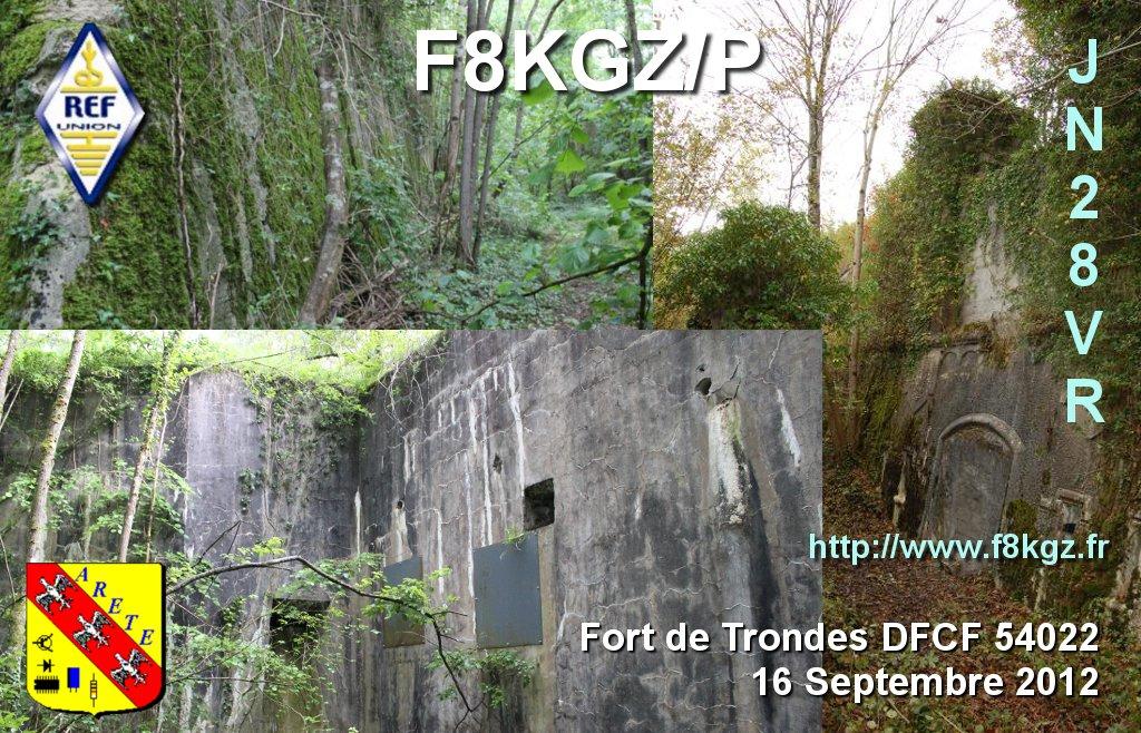 Fort de Trondes DFCF 54-022 14x9